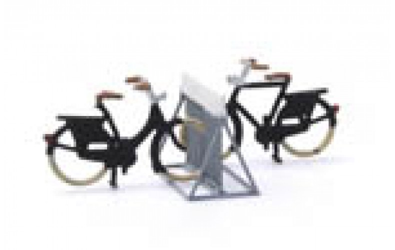 316056 Painted Metal Bike Rack/Stand